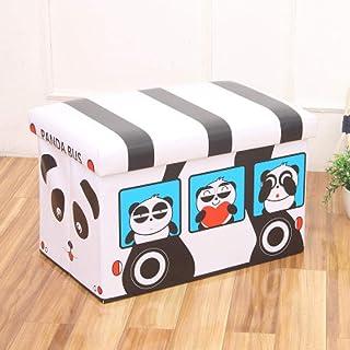 MJY Paniers à linge, Panda avec couvercle Paniers à linge Sac de rangement multi-usage avec poignée Rangement pliable Rang...
