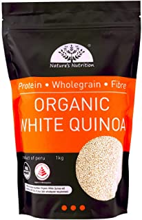 Nature's Nutrition Organic White Quinoa, 1kg