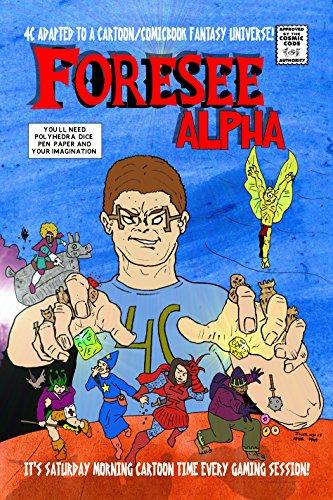 Foresee Alpha KICC version: Foresee Alpha fantasy 4C adaptation Kindle comic creator version (English Edition)