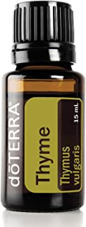 doTERRA - Thyme Essential Oil - Provides Powerful Antioxidants, Supports Healthy Immune System, Naturally Repels Insects; for Diffusion, Internal, or Topical Use - 15 mL