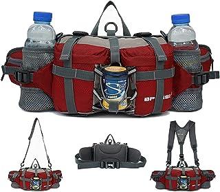 Brinny Tactical Bauchtasche Hüfttasche Militär Gürteltasche mit 2 Flaschenhalter für Outdoor Sport Trekking Wandern Runnin...