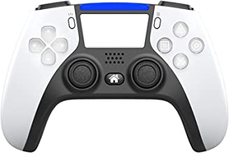 $23 » Teatop Ps4 Wireless Gamepad Bluetooth is Similar to Ps5 Controller Appearance Supports Back Extension Key (Color : White)
