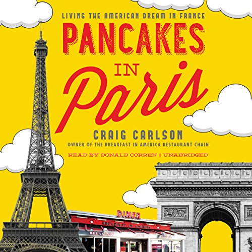 Pancakes in Paris audiobook cover art