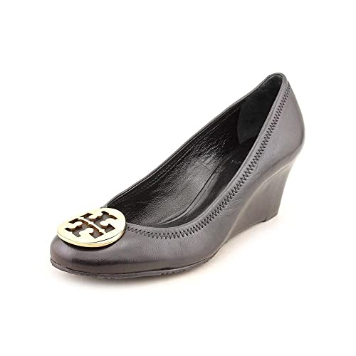 edb38fea1 Tory Burch Sally Wedge Women US Size 11 Black Wedge Heel