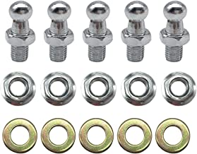 10mm Ball Studs with Hardware 5/16-18 Screw Thread 1/2