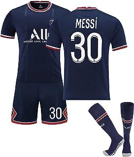 Youth Soccer Jersey 2021-2022 Paris Team #30 Football...