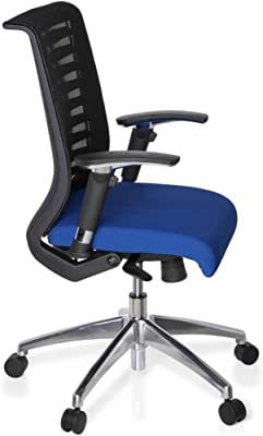hjh OFFICE 707220 AVATAR PRO Silla de oficina, negro / azul