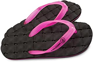 Recliner Rubber Big Youth Sandal-Pink-5
