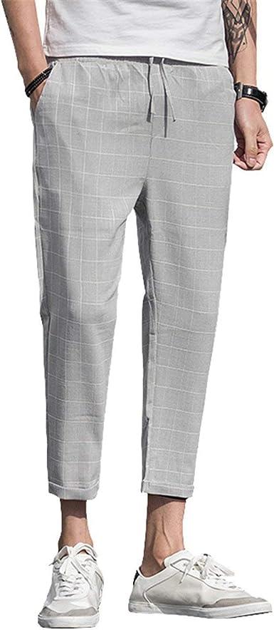Pantalones Casuales De Lino De La Tela Hombres Corredores Pantalon Lino Hombrevestidos Para Invierno Casualesabrigos Champion