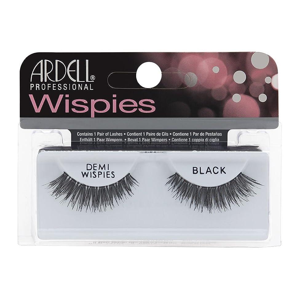 姪溶接ラバARDELL False Eyelashes Invisibands DEMI Wispies Black (並行輸入品)