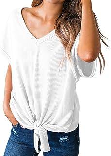 4ed7b3053 Amazon.es: ropa de baño mujer 2018 - Blanco / Blusas y camisas ...