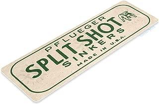 vintage split shot tins
