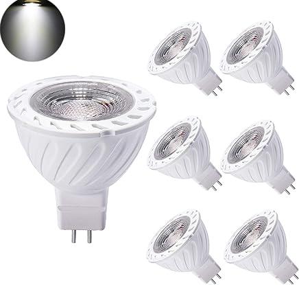 Bombilla LED GU5.3 MR16 12V 7W Blanco Frio Equivalente a Halogeno 50W Spot Luz