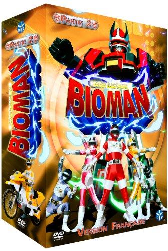 Bioman-Partie 2-Coffret 4 DVD-VF