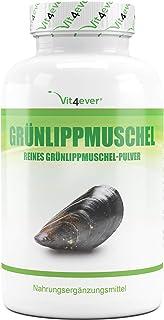 Groene lipschelp - 365 capsules met elk 600 mg - Premium: met glycosaminoglykane - hooggedoseerd groene lippmosselextract...