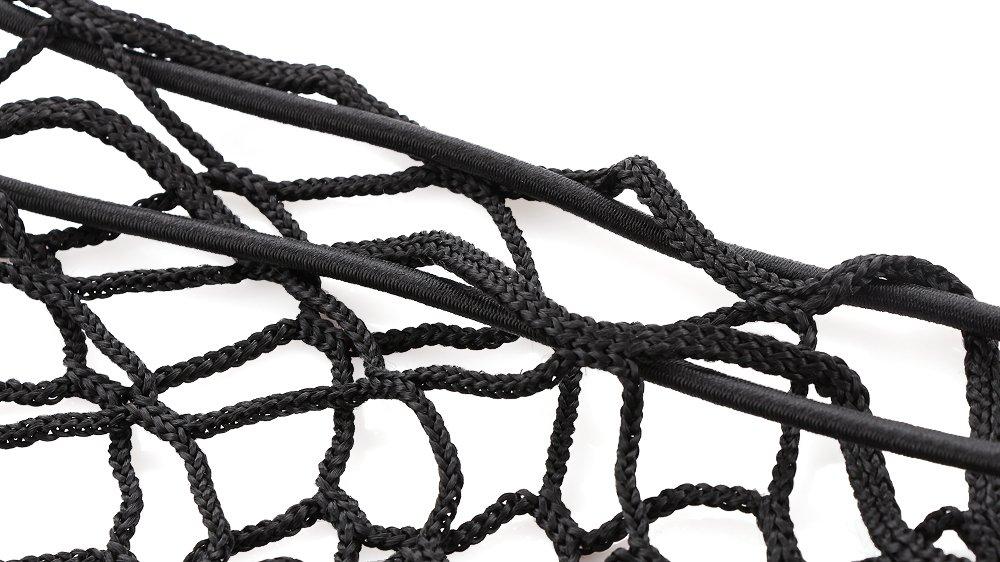 VCiiC Car Rear Cargo Elastic String Net Storage Bag Organizer Flexible Cargo Net Mesh for Mercedes-Benz ML-Class ML250 ML350 ML500 ML550 ML63 W166