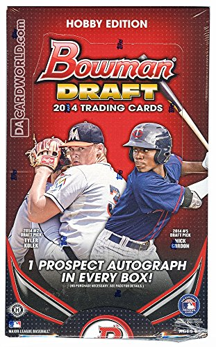 2014 Bowman Draft Picks & Prospects Baseball Hobby Box MLB