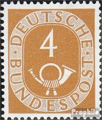 RFA (FR.Allemagne) mer.-no.: 124 testés 1951 Horn (Timbres pour Les collectionneurs)