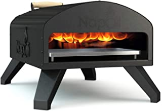 Napoli Bertello Wood Fire and Gas Outdoor Pizza Oven