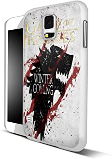 game of thrones winter coming wallpaper For Samsung Galaxy S5 White Case