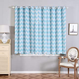 """Thermal Blackout Curtains with Grommet - 52"""" x 64"""" 