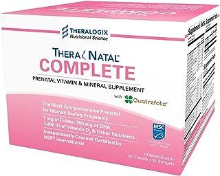 TheraNatal Complete | Prenatal Vitamin & Mineral Supplement (13 Week Supply)