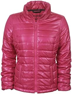 Womens Thin Small Channel Puffer Jacket