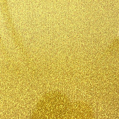 Flex T-Shirt Textil Plotter Folie A4 Glitter Gold Siser G0020