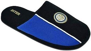 DIVASPORT Pantofole/Ciabatte Nere Azzurre in Gabardine F.C. Inter - Prodotto Ufficiale