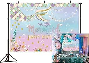 Best mermaid birthday backdrop Reviews