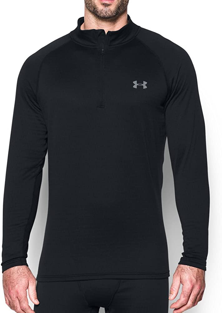 Under Armour Mens Tech 2.0 Half Zip Top Green Sports Running Gym Breathable