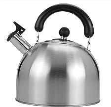 KETTLES Keuken Eenvoudige 304 Rvs Grote Capaciteit Huishoudelijke Inductie Fornuis Gas Koken Verdikte Zilver XMJ (Kleur: Z...