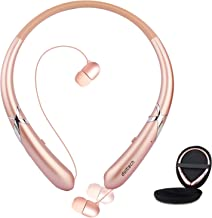 Bluetooth Headphones, Doltech Bluetooth 5.0 Neckband Headphones Noise Cancelling Headset..