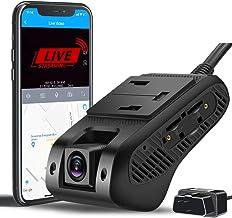 LIVEO Video & 24H Monitor Remoto, 4G & WiFi Dual Dash Cam frontal e interior de la cabina Dash Cámara para Coches 1080P FHD DVR Cámara de Coche Grabadora de Conducción   GPS Track  G-Sensor   Registros de Bucle   Análisis de Comportamiento