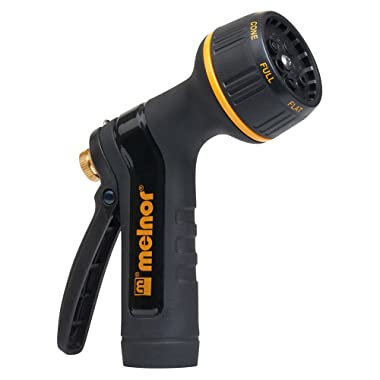 Melnor 995037 Rear Trigger 7 Watering Patterns XT Metal Garden Hose No, Basic
