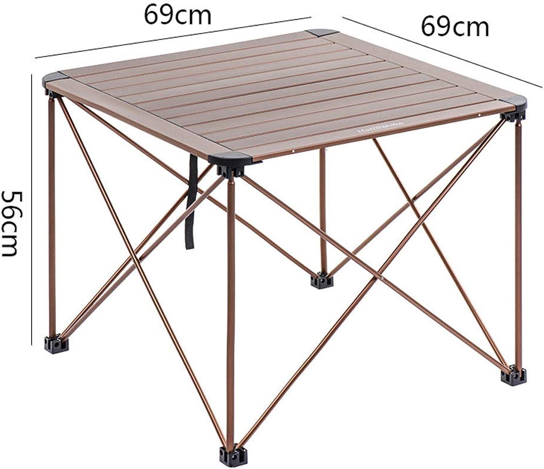 J+N NJ Klapptisch- Outdoor Aluminium Klapptisch, Camping Picknick tragbare Tabelle