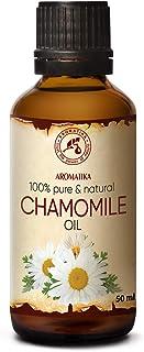 Aceite de Manzanilla 50ml - Matricaria Chamomilla - Extracto de Aceite de Flor de Manzanilla Natural - Aceite Portador - A...