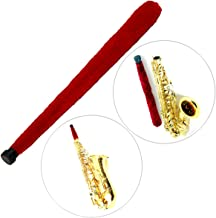 Luvay Alto Sax Saxophone Pad Saver, Brush Cleaner Maintain Care Tool (Red)
