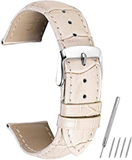 Watch Band 14mm 16mm 18mm 19mm 20mm 21mm 22mm 24mm Genuine Calf Leather Strap Replacement Silver/Gold/Rose Gold Clasp CHIMAERA