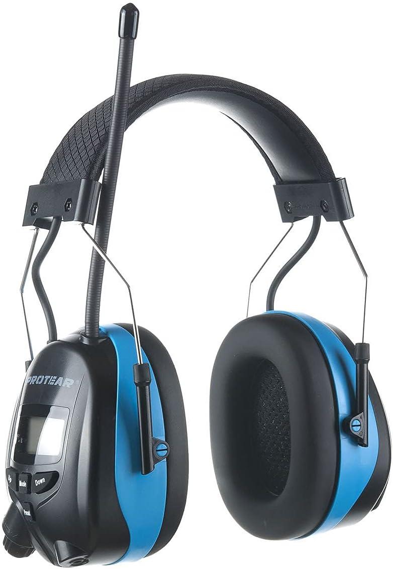 PROTEAR Bluetooth AM FM Tucson Mall Radio Reducti Super intense SALE Noise NRR Headphones 25dB
