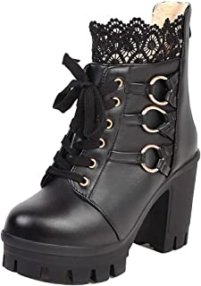 MisaKinsa Women Fashion Martin Boots