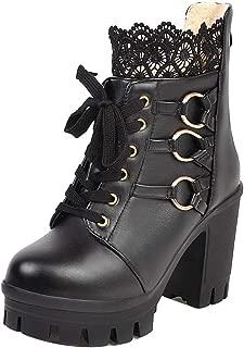 KemeKiss Women Fashion Martin Boots