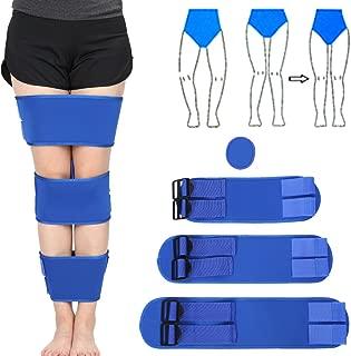 zjchao Legs Posture Corrector Belt, 3Pcs/Set O/X Form Knock Knee Bowlegs Leg Correction Brace Bands Straightening Bandage