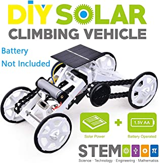 Coodoo Science Kits for Kids 4WD Climbing Vehicle Motor Car DIY Educational Toys for 6-12 Year Old Boys STEM Toys Idea Birthday Gifts