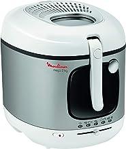 MOULINEX Mega 3.3 Litre Deep Fryer, Grey / White, AM480027