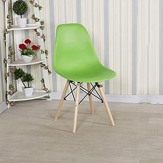 Giratoria bar comedor Contador silla de la cocina Patas de sillas de plástico Negociación nórdica creativo de la haya cenar Silla Silla de café Ocio plástico for silla de comedor ( Color : B )