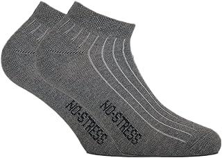 Fontana Calze, 6 paia di calze UOMO sport, fitness, mod. CAVIGLIA con punta e tallone rinforzati.