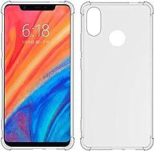 TIYA for MI Xiaomi 8 Case Clear TPU Four Corners Cover Transparent Soft funda