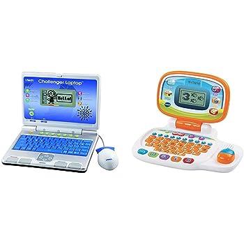 VTech Challenger Laptop, 64973 & 155403 Pre School Laptop ...