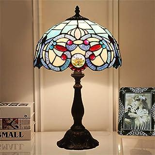 Hyun times 12-Zoll-Retro-Tischlampe Kreative Lampe Nachttischlampe Nachttischlampe Nachttischlampe Glasmalerei Kunst Tischlampe - Ideal für Nacht- und Schlafzimmergebrauch B07P6X3FQZ  Elegant bba67b